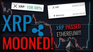 BREAKING NEWS: XRP Overtook Ethereum!! +109% Gain From XRP!