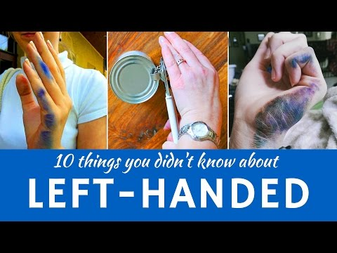 Left-Handedness: Interesting Facts and Differences between Left & Right-Handed