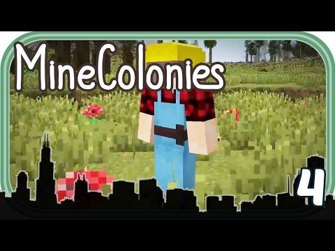 Der Baumeister geht ans Werk - MineColonies #004 - Deutsch - Chigocraft