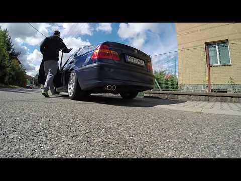 BMW E46 320i M54 B22 (226S1) 125kW 2003 RamAir Jetstream filter + Ulter Exhaust - Exhaust sound