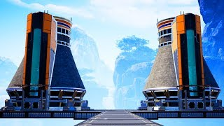 Destroying The Environment With Radiation And Nuke Plants in Satisfactory