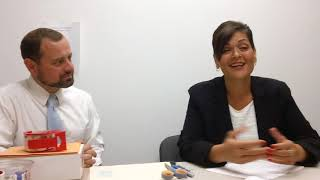 Hala Ayala, Tom Perriello Intro to Discussion on Health Care (9/19/17)