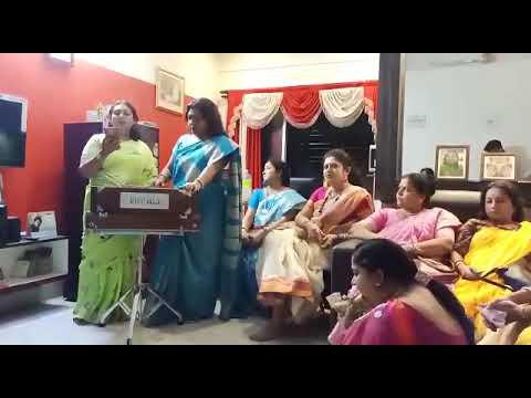Suchetana Mukherjee in Bijoya Sammelon 2019