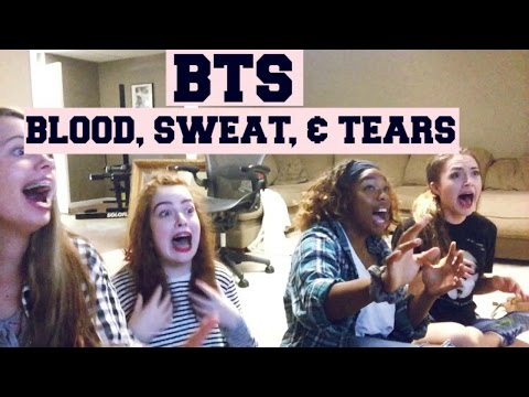||Reaction To BTS Blood, Sweat, & Tears||