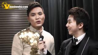 Vinashowbiz interviews Singer Huynh Gia Tuan