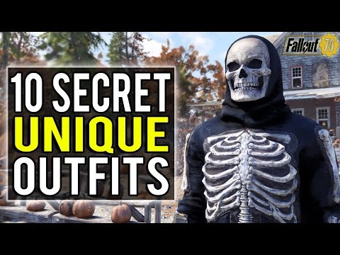 Fallout 76 | 10 Secret Unique Outfit Locations You Won't Want to Miss! (Fallout 76 Secrets)