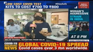 IIT Delhi Researcher Develop Affordable Test For COVID-19, Mass Production To Commence Soon