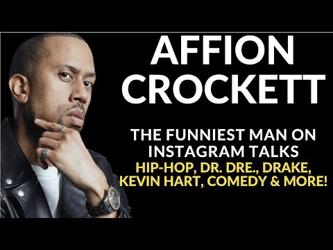 Affion Crockett Explains His Mix Of Comedy & Hip-Hop, Drake, His Dr. Dre Connection