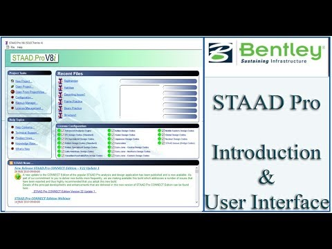 STAAd Pro Tutorial For Beginners [Eposide 1]: Introduction - YouTube