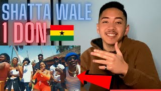 Shatta Wale - 1 Don (Official Video) AMERICAN REACTION! Ghana Music 🇬🇭🔥