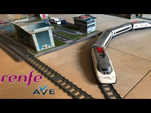 Tren de Juguete Renfe Ave. Toy Train Renfe Ave. Miniaturas Pequetren ❤ ❤
