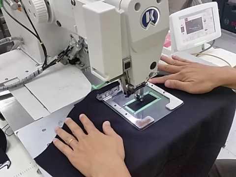 Nike swoosh patch stitching