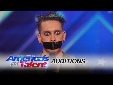 Tape Face | Audition | America's Got Talent 2016