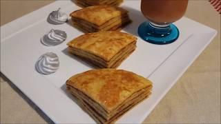 Pancake à l'orange
