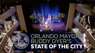 Mayor Buddy Dyer's 2015 State of the City Address (Full Speech)