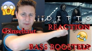 Jay & Jane   Ditto   Reaction DIESER BEAT Bass Boosted ?!😱😱