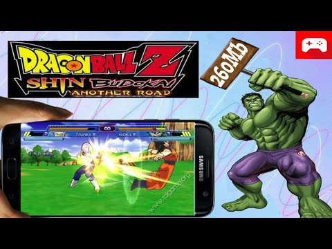 270MB | Dragon Ball Z Shin Budokai Another Road PPSSPP