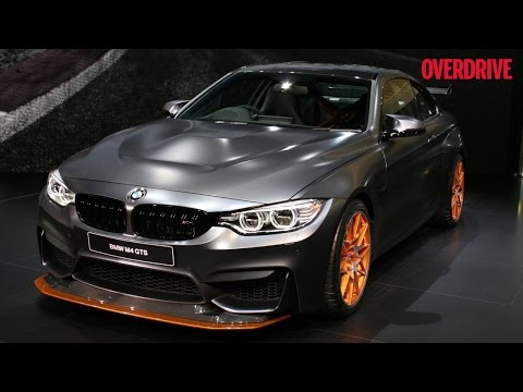 BMW M4 GTS and Mini Convertible - Tokyo Motor Show 2015