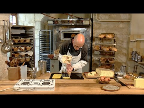 Palets fricassés aux pommes de terre et choux moines au fromage