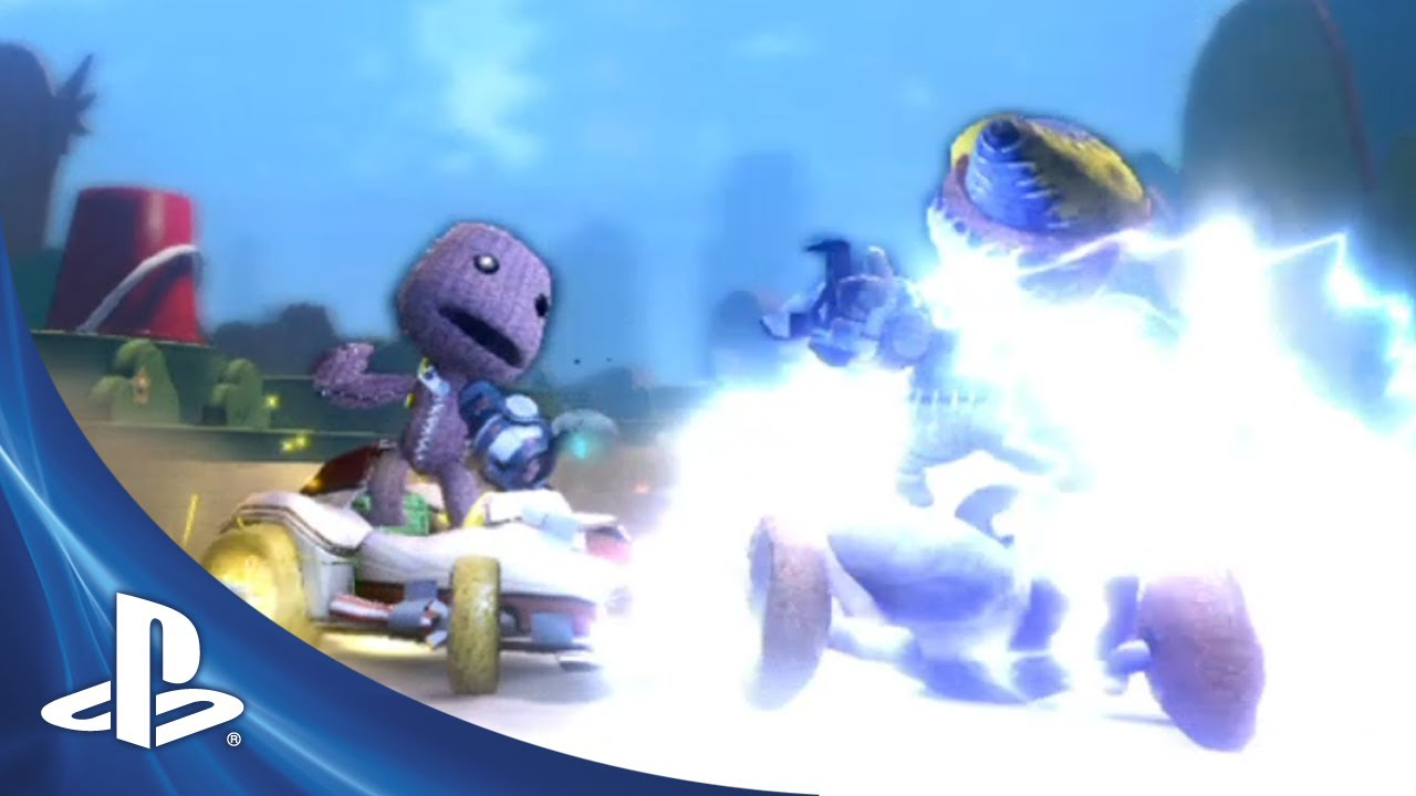 Sack It To Me: LittleBigPlanet Karting Gets a Story Trailer