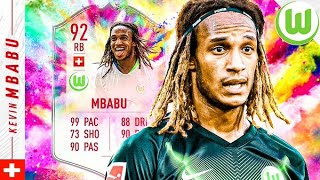 BEST RB IN FIFA?! 92 SUMMER HEAT OBJECTIVE MBABU REVIEW! FIFA 20 Ultimate Team
