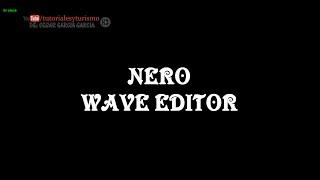 Nero WaveEditor Free Tool