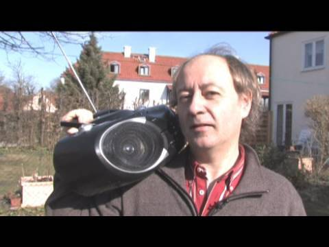 DVD-Ghettoblaster mit integriertem Beamer
