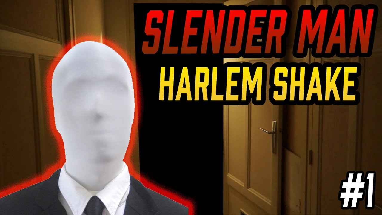 Slenderman's Take On The Harlem Shake Doesn't Go Like You'd Expect