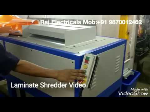 Industrial Shredder Machine profipack