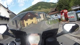 preview picture of video 'KTM 1190 RC8 R - Hochrindl to Ebene Reichenau'