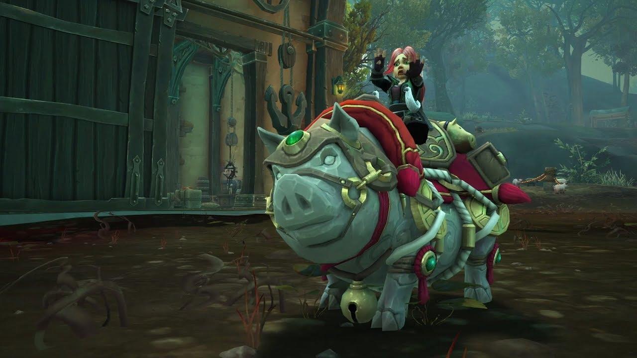 Arriva Porcus, Suino della Buona Sorte, la nuova mount di WoW