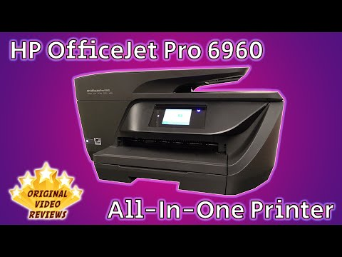 HP OfficeJet Pro 6960 All-in-One Printer Review