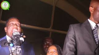 Breaking:Emmerson Dambudzo Mnangangwa back in Zimbabwe