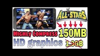 How to download Wwe All star psp emulator in 150mb