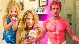 I can't believe we pranked Cole in the shower... AGAIN!!!