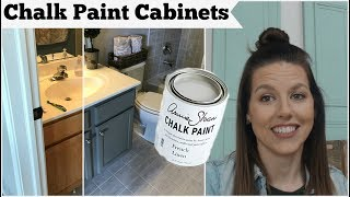 Chalk Paint Cabinets With Annie Sloan Chalk Paint