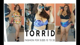 PLUS SIZE Torrid Swimwear Try On 👙 | Embrace Your #BODYYY