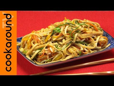 Noodles con le verdure / Ricette etniche
