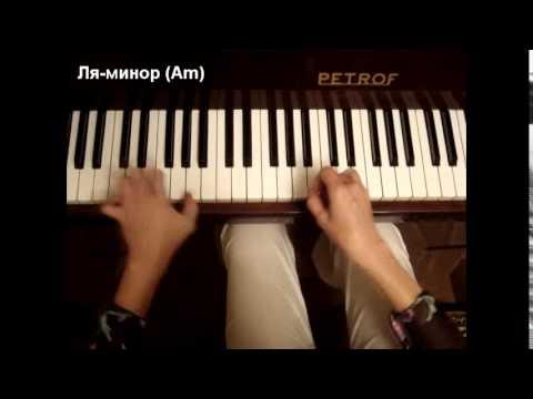 """""""Изгиб гитары жёлтой..."""" Олег Митяев (разбор на пианино, кавер)"""