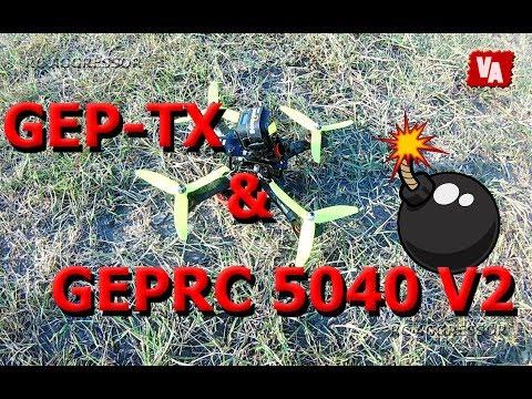 GEPRC 5040 V2 & GEP-TX banggood