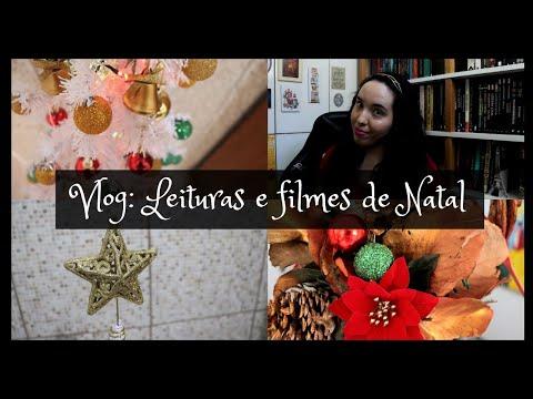 Vlog: Leituras e filmes natalinos | Um Livro e Só