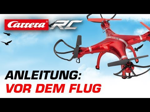 Carrera RC Quadrocopter - Vor dem Flug (Video Next)