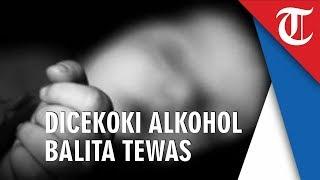Kakek Cekoki Cucu yang Berusia 1 Bulan dengan Alkohol hingga Tewas