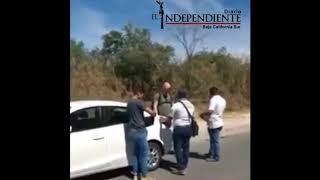 Detención a un UBER por parte de Transporte Municipal de Los Cabos
