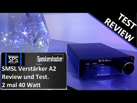 Viel Power für wenig Geld SMSL A2 2.1 Verstärker Review und Test.