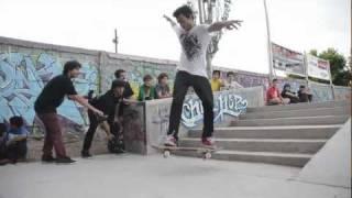 preview picture of video 'Demo skate Circa en San Vicente Park - Mendoza'