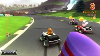Garfield Kart Gameplay (PC HD)