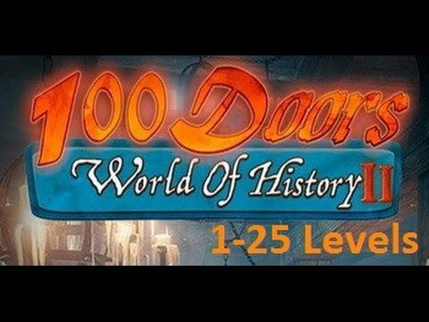 100 дверей мир истории 2 - 100 doors World of History 2 - Прохождение 01- 25 уровень - Level 1 - 25