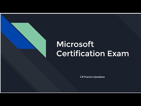 Microsoft Exam 98-361 - Software Development Fundamentals in ...