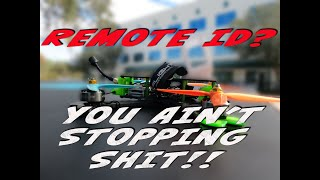 Remote ID cant stop FPV